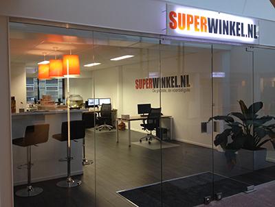 Superwinkel Kantoor